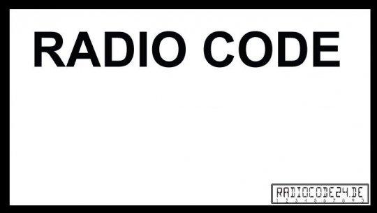 passend für Alfa Romeo Bosch Auto Radio Code