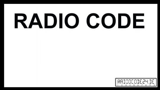 passend für Delco Auto Radio Code DELCO OPEL CDR2005 GM0205 / CDR500 (D) GM1500
