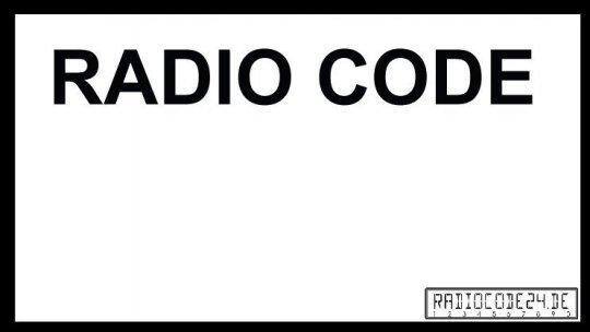 passend für Fiat Bosch Auto Radio Code