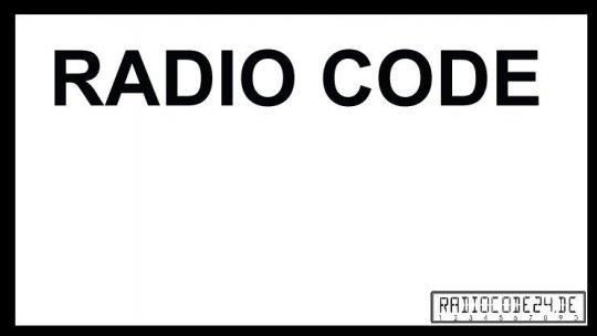 passend für Philips Auto Radio Code