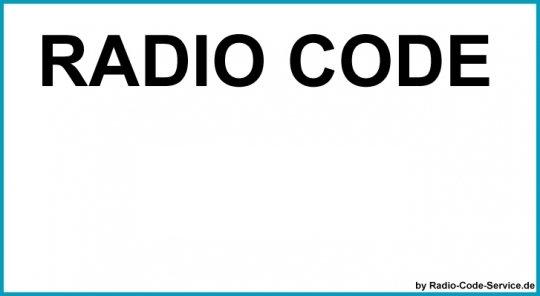 Bosch Auto Radio Code