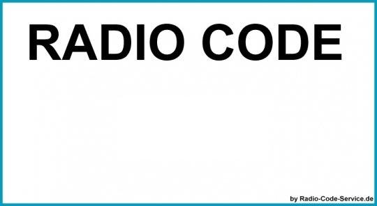 Delco Auto Radio Code DELCO OPEL CDR2005 GM0205 / CDR500 (D) GM1500