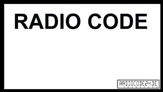 passend für Renault Philips Auto Radio Code