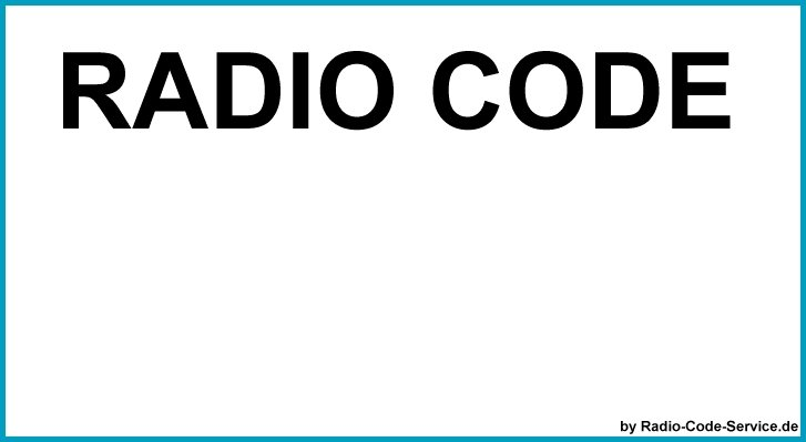 Radio code service mercedes benz bosch auto radio code for Mercedes benz radio code